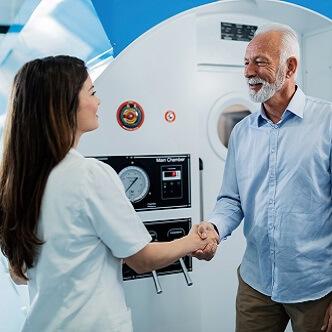 Terapie cu oxigen hiperbaric