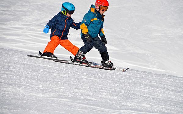 lectie schi copii