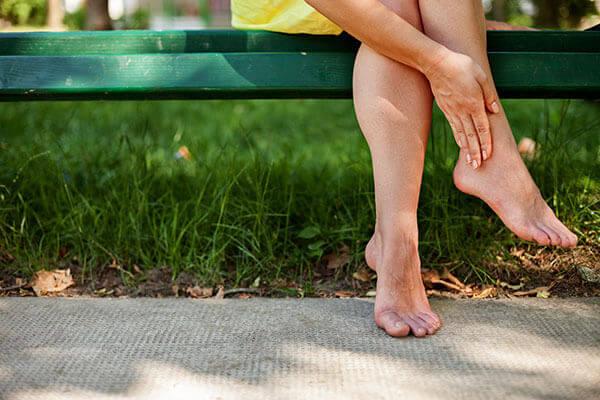 miscare picioare umflate