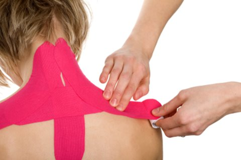 Tratament kinesio taping