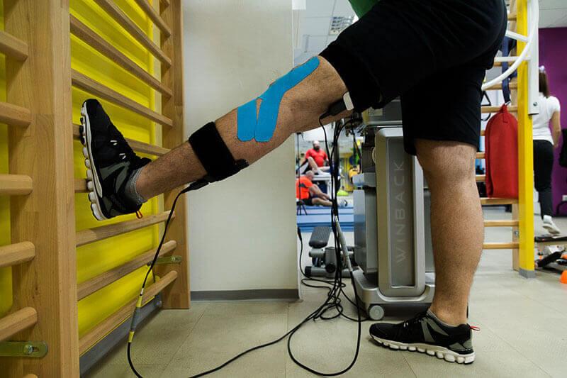 recuperare genunchi spalier