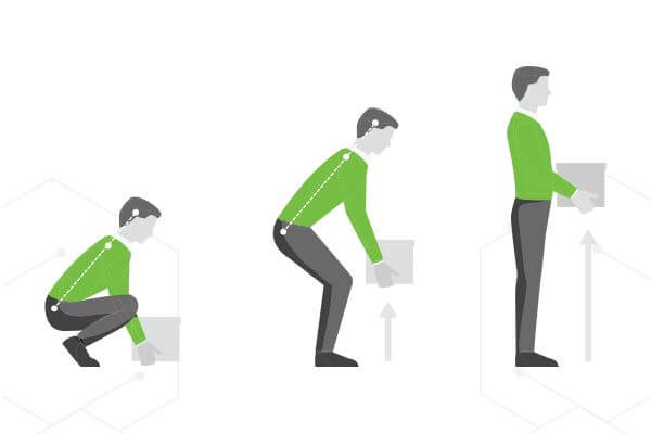 postura corecta ridicare obiecte